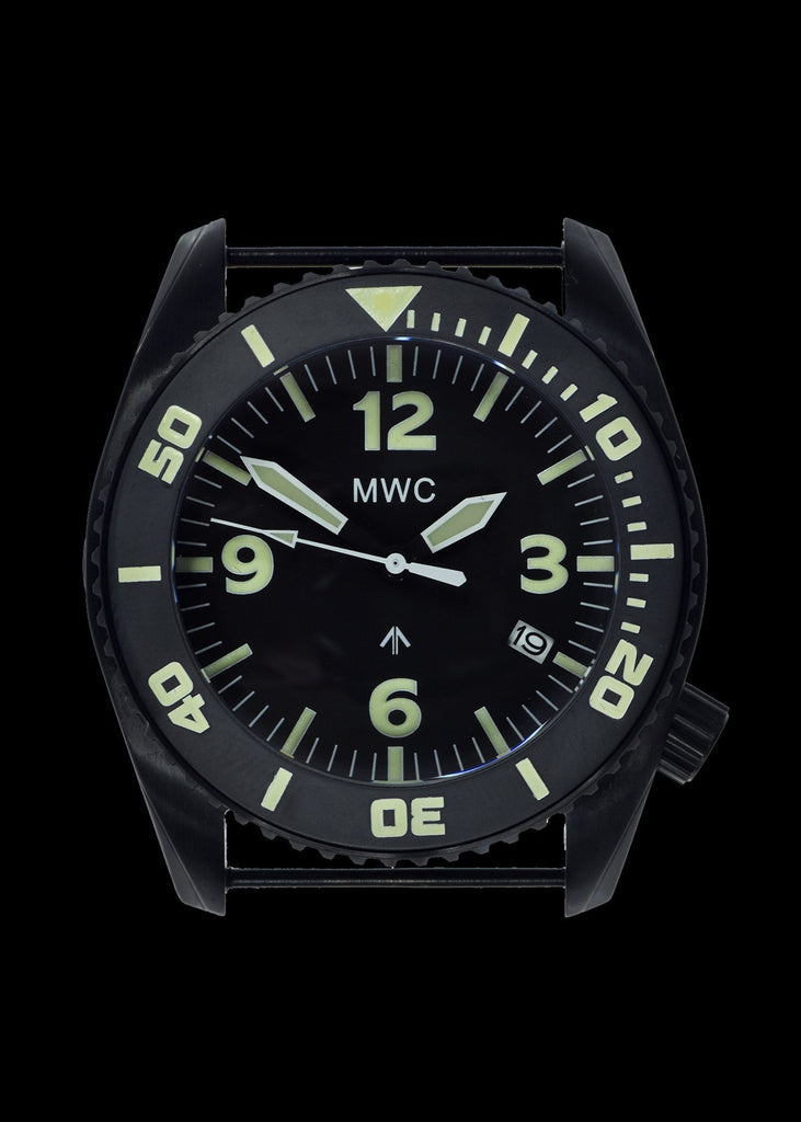 MWC Divers Watch - Depthmaster, 100atm/3,280ft/1000m Water Resistant, PVD Stainless Steel, Helium Valve (Automatic)