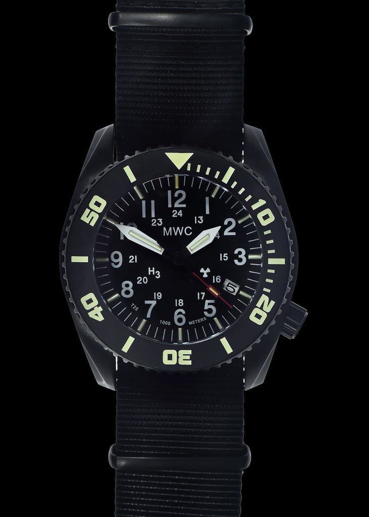 MWC Divers Watch - Depthmaster, 100atm/1000m Water Resistant, PVD Stainless, GTLS, Helium Valve (Automatic)