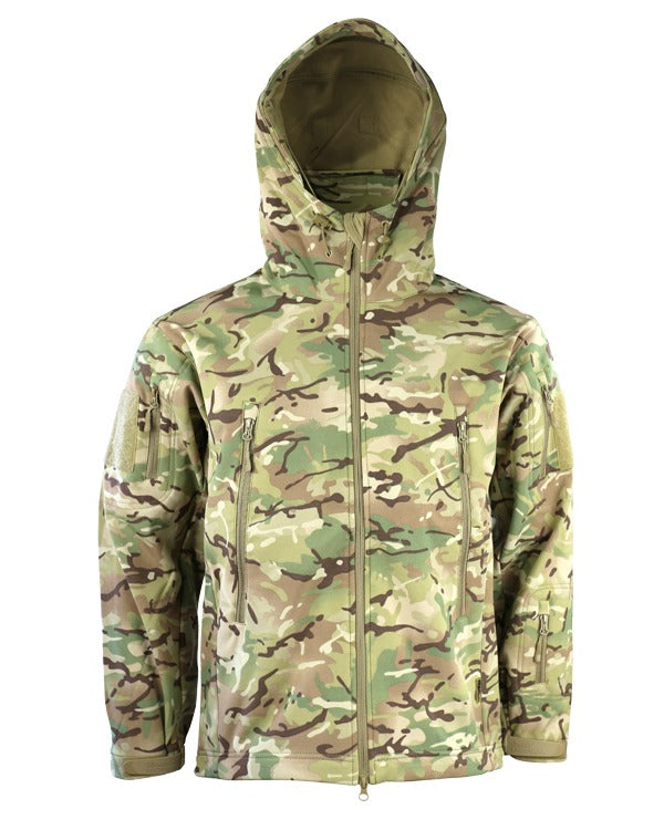 Kombat UK - Patriot Tactical Softshell Shark Skin Jacket - Hooded