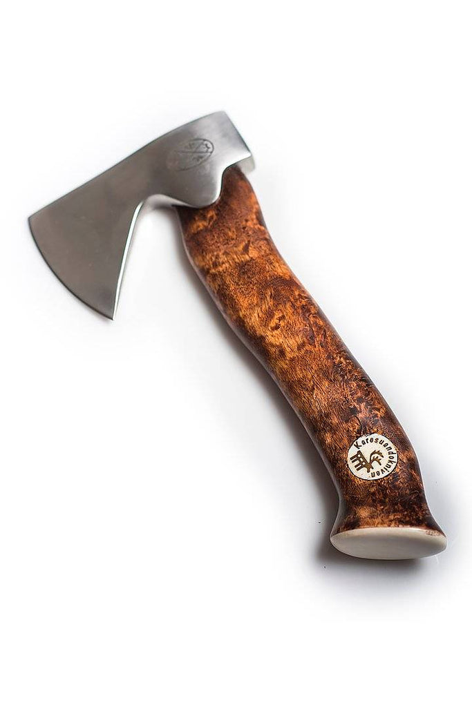 Karesuando Kniven - Unna Àksu Small Hatchet Dark Handle