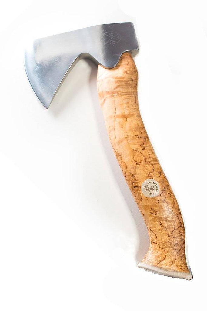 Karesuando Kniven - Unna Àksu Large Hatchet Natural Handle