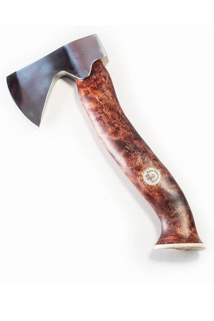 Karesuando Kniven - Unna Àksu Large Hatchet Dark Handle