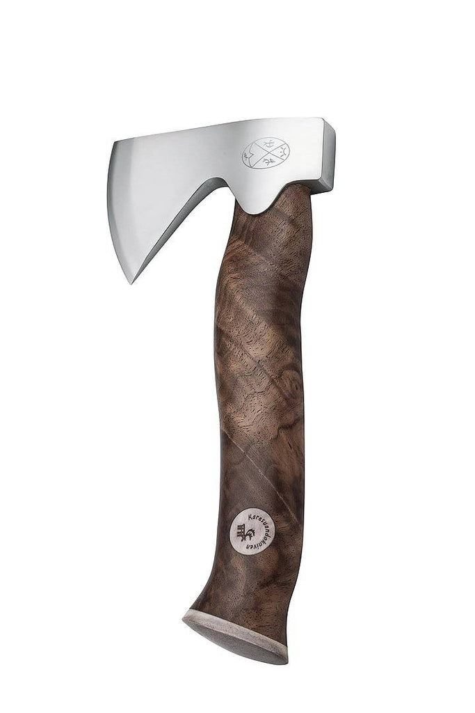 Karesuando Kniven - Unna Àksu Axe with Walnut Handle