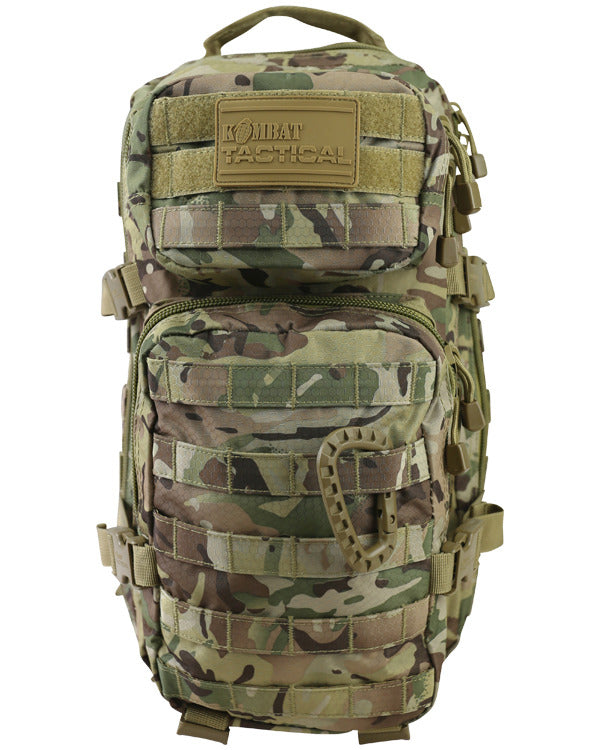 Kombat Small MOLLE Assault Pack 28 L Coyote Front molle Webbing Tactical