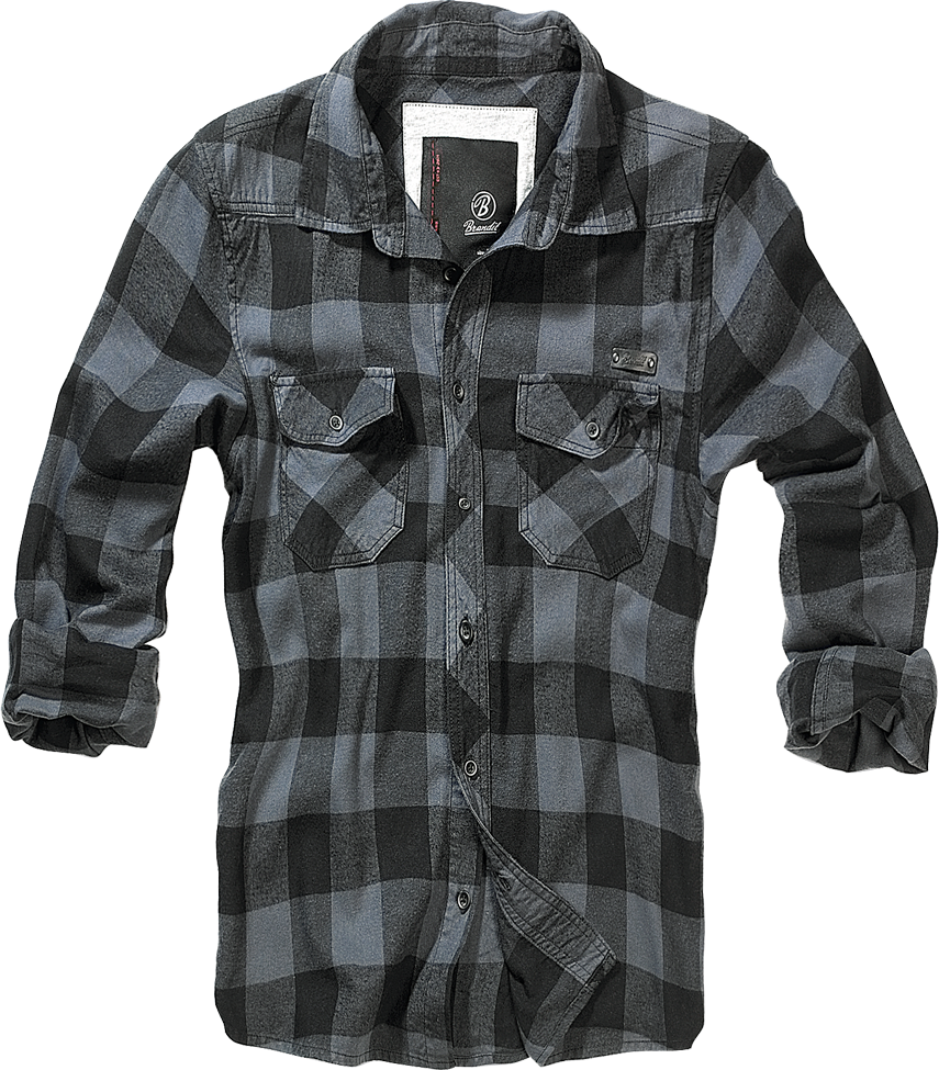 Brandit - Classic Check Shirt - Long Sleeve