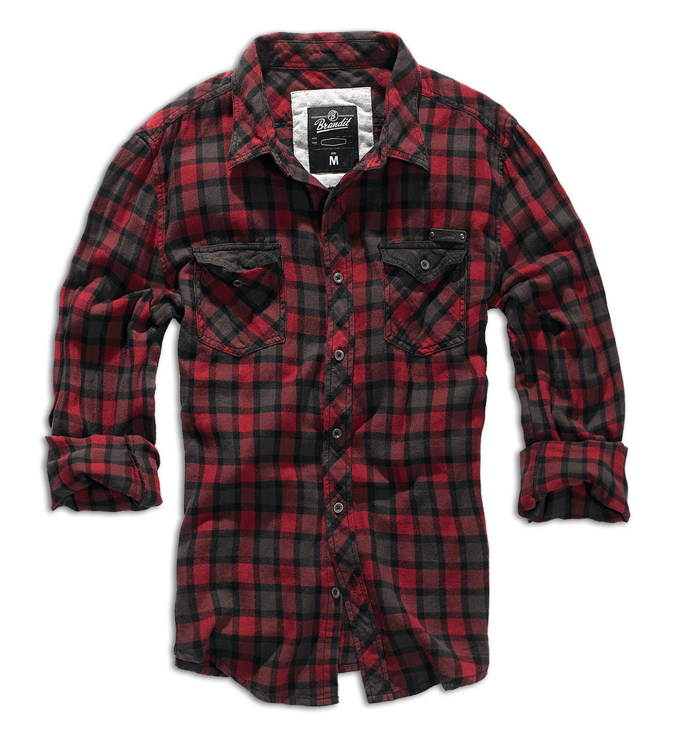 Brandit - Duncan Check Shirt - Long Sleeve