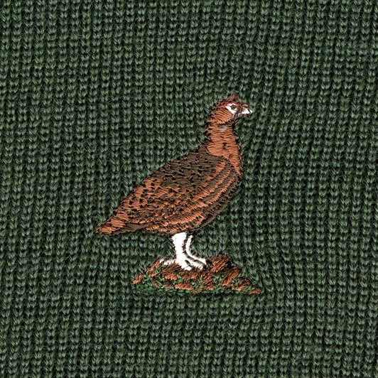 Embroidery - Grouse