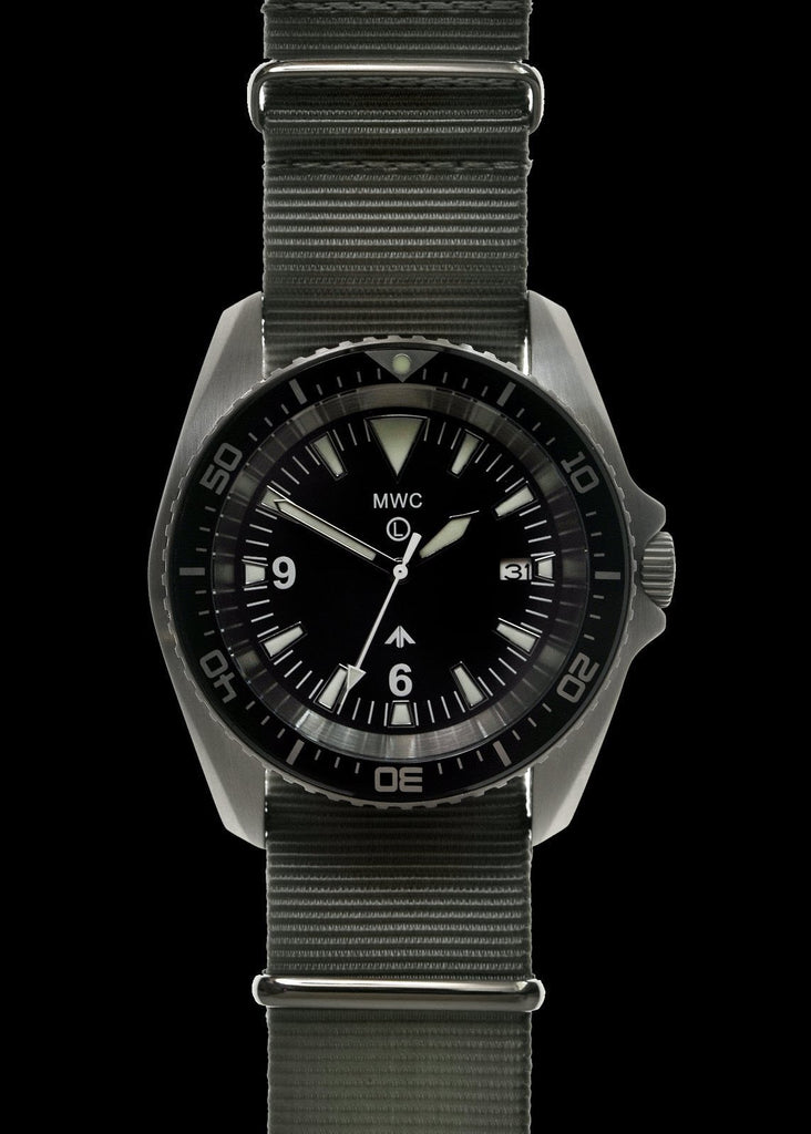 MWC Divers Watch - Military Divers Watch Stainless Steel (Automatic) 2019 Model With Sapphire Crystal and Ceramic Bezel