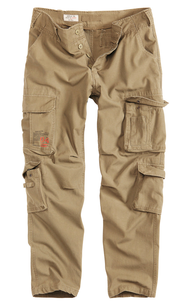 Surplus Tex Airborne Vintage Slimmy Trousers