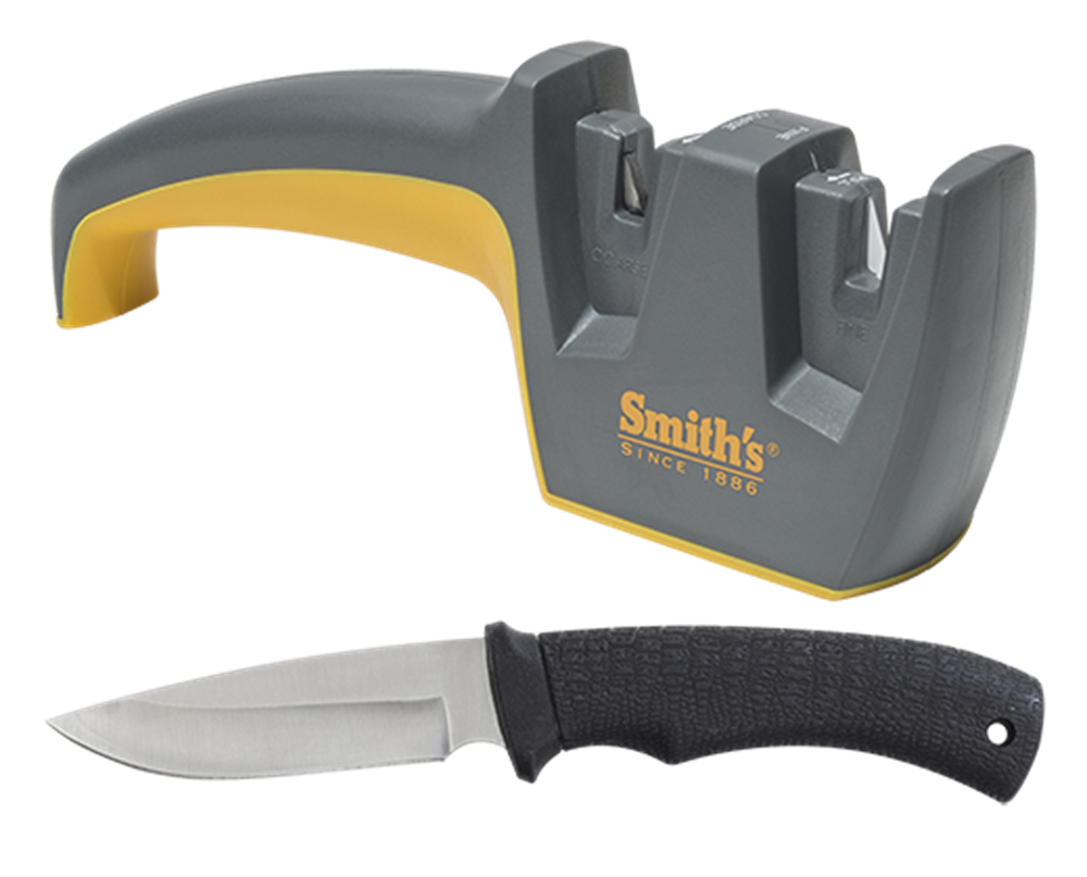 Smiths Edge Pro Sharpener with Fixed Blade