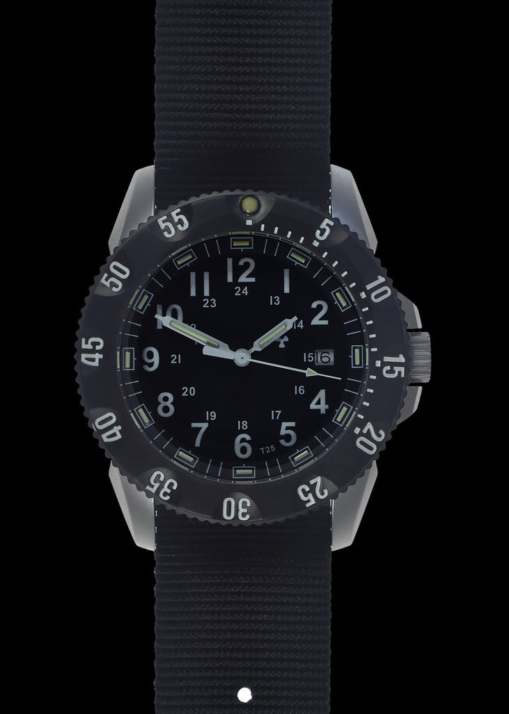MWC Infantry Watch - P656 Tactical Series Watch, GTLS Tritium, 24 Jewel Automatic Movement, Sapphire Crystal (Date Version)