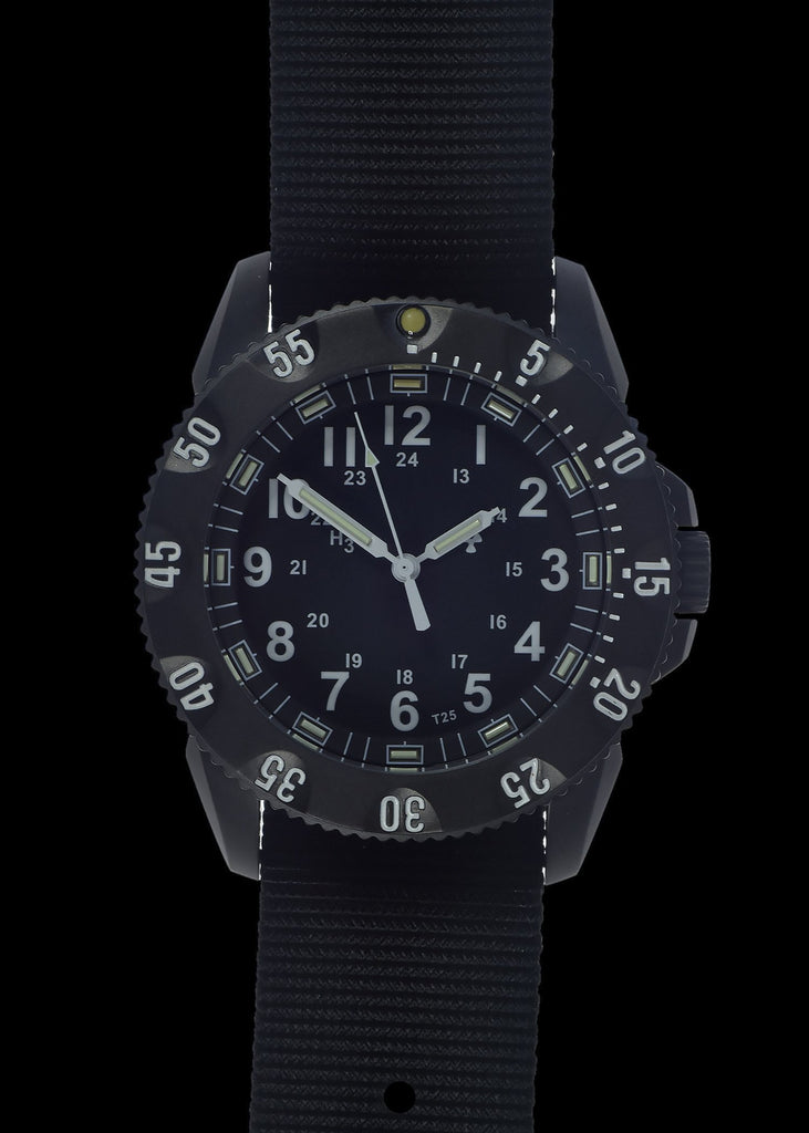 MWC Infantry Watch - P656 Tactical Series Watch, GTLS Tritium and Ten Year Battery Life (Non Date Version)
