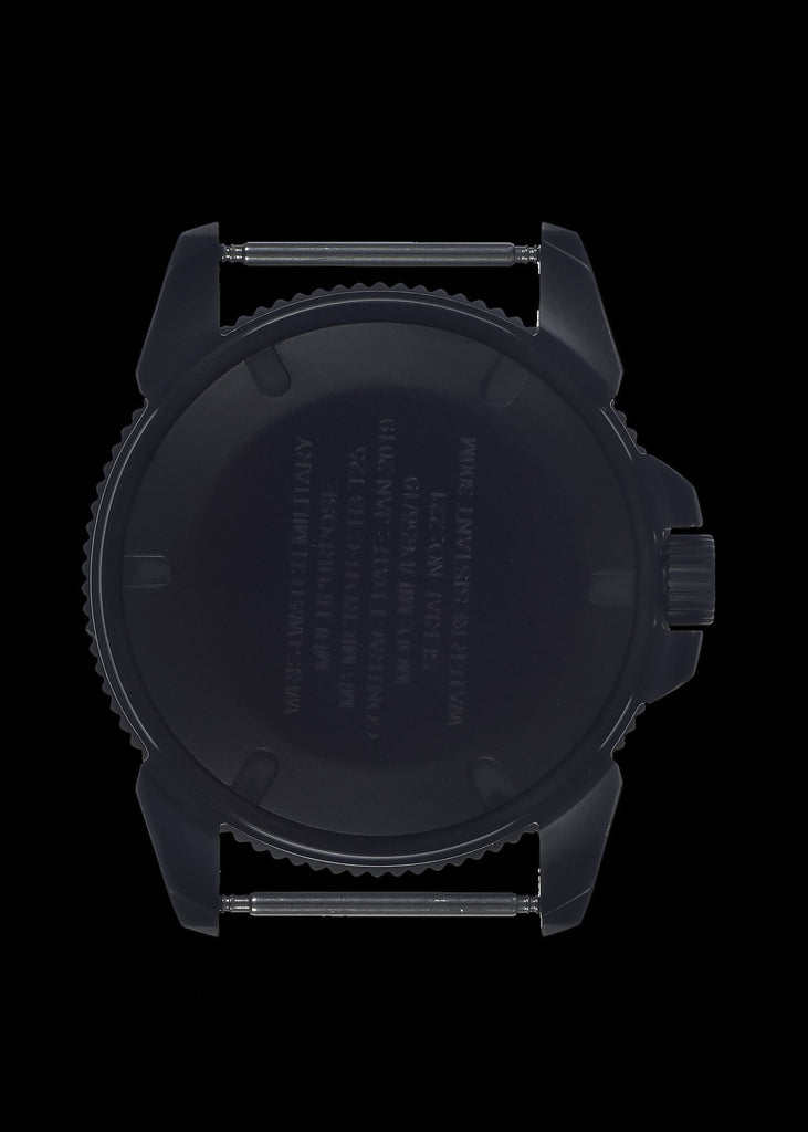 MWC Infantry Watch - P656 Tactical Series Watch, Subdued Dial, GTLS Tritium, Ten Year Battery Life (Date Version)