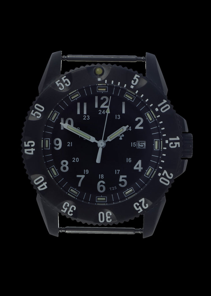MWC Infantry Watch - P656 Tactical Series Watch, GTLS Tritium and Ten Year Battery Life (Date Version)