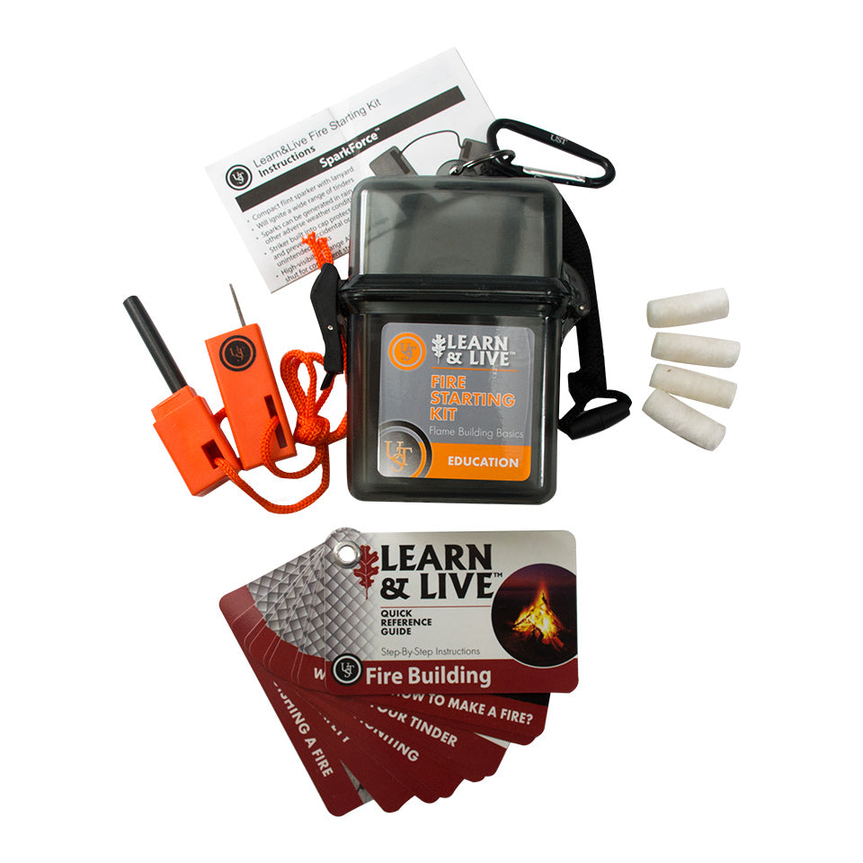 UST Learn & Live Kit Fire Starting