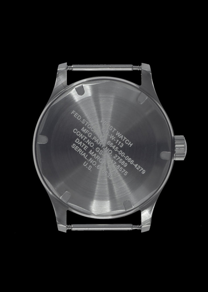MWC Classic Watch - 1960s / 70s U.S Pattern Vietnam War Issue Watch, 24 Jewel Automatic Movement and 100m Water Resistance
