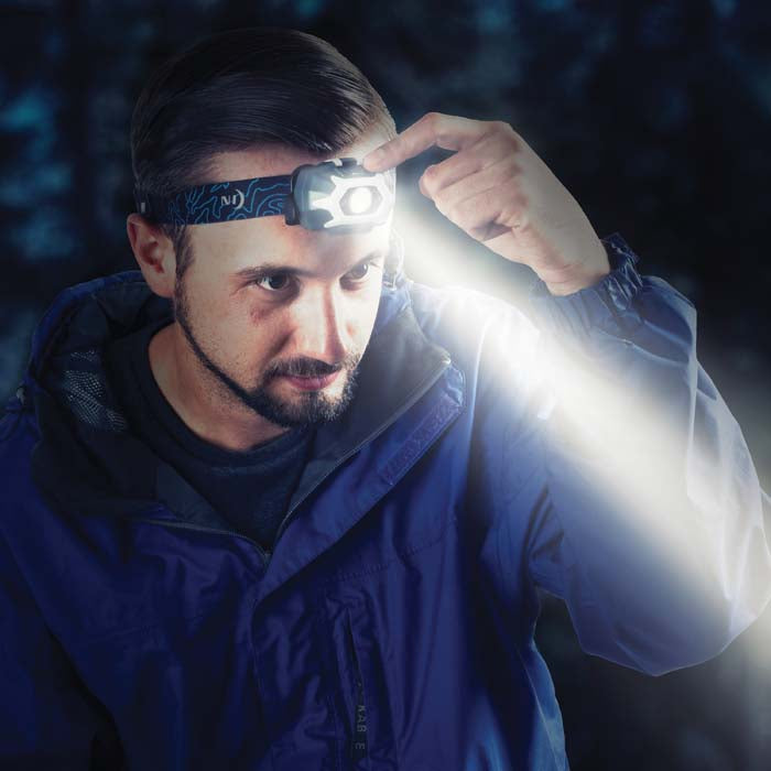 Nite Ize INOVA® STS™ PowerSwitch™ Dual Power Rechargeable Headlamp - 280 Lumens
