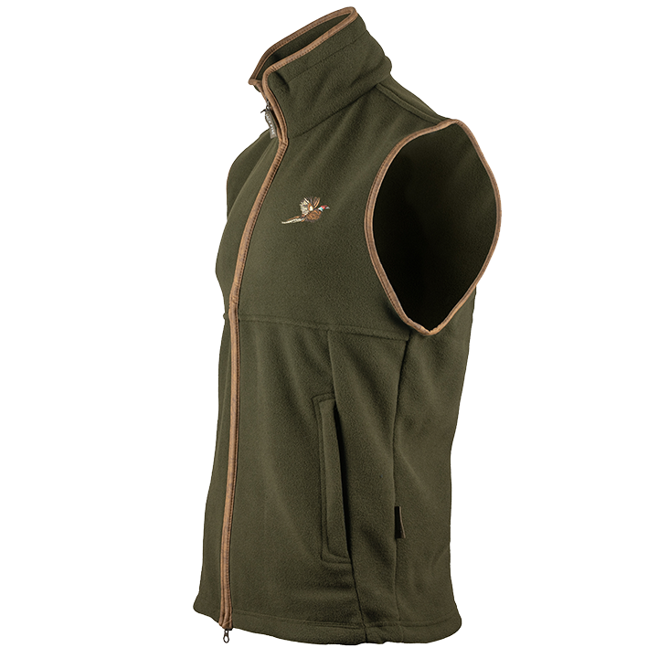 Jack Pyke - Countryman Fleece Gilet with Pheasant Motif