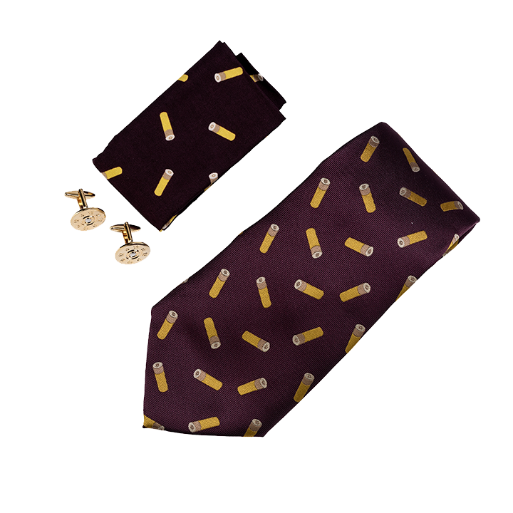 Jack Pyke - Cartridge Tie, Hanky and Cufflink Gift Set