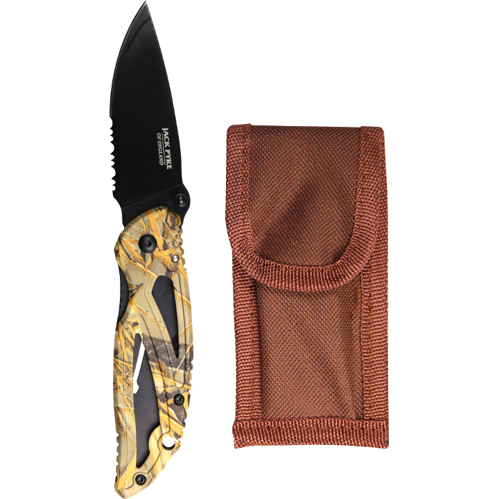 Jack Pyke - Camo Lock Knife