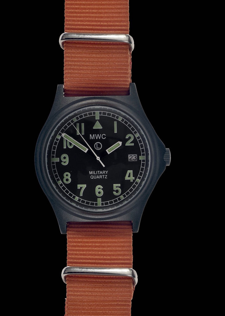 MWC Infantry Watch - G10 50m PVD SAR / Coastguard Watch, Battery Hatch, Solid Strap Bars, 60 Month Battery Life
