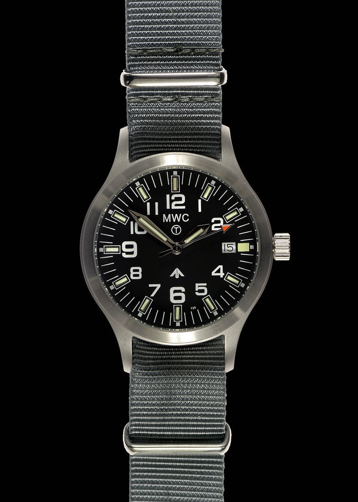 MWC Classic Watch - MKIII Brushed Stainless Steel with Tritium GTLS (Quartz)