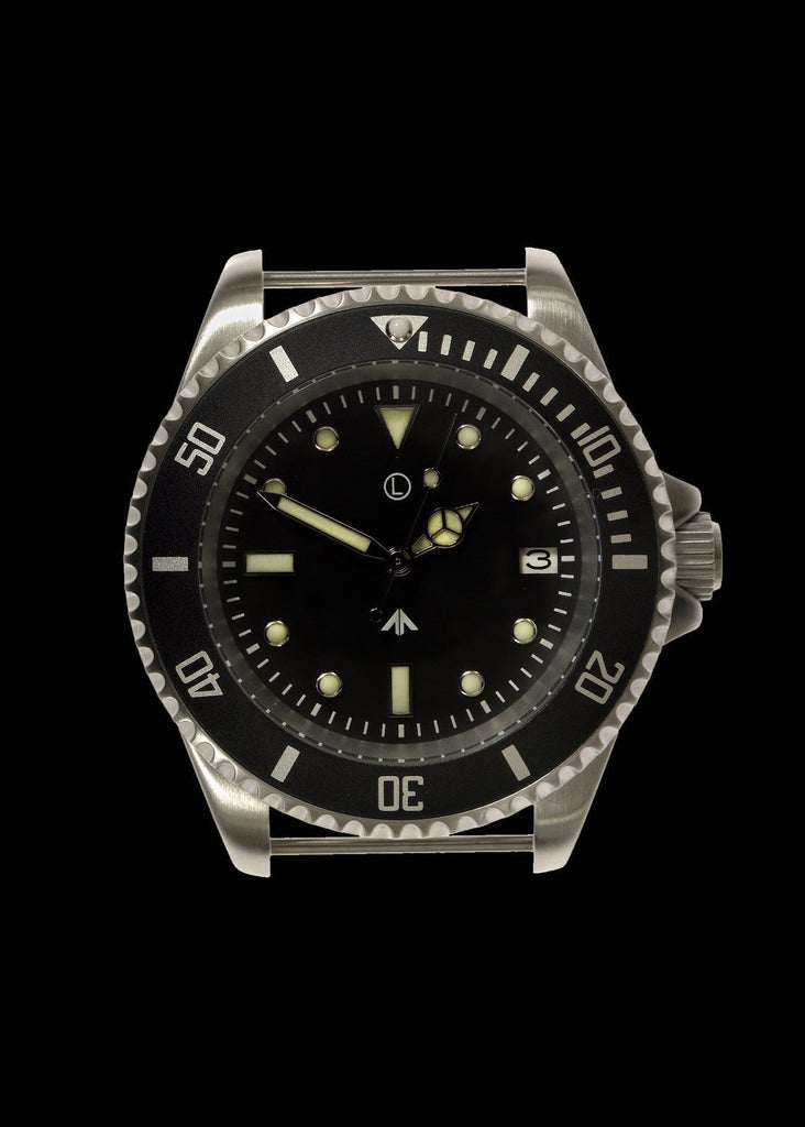 MWC Divers Watch - 300m / 1000ft Stainless Steel Quartz Military Divers Watch (Unbranded)