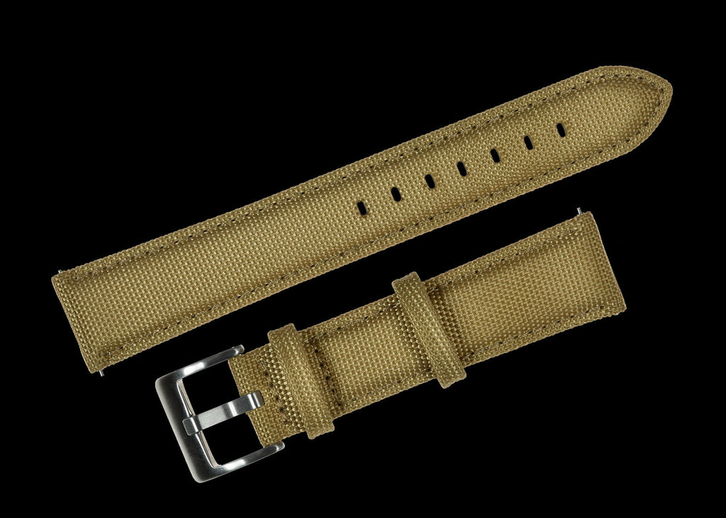 MWC Watch Strap - 20mm - Sailcloth CORDURA - 2 Piece