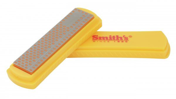 "Smiths 4"" Diamond Sharpening Stone - FINE"