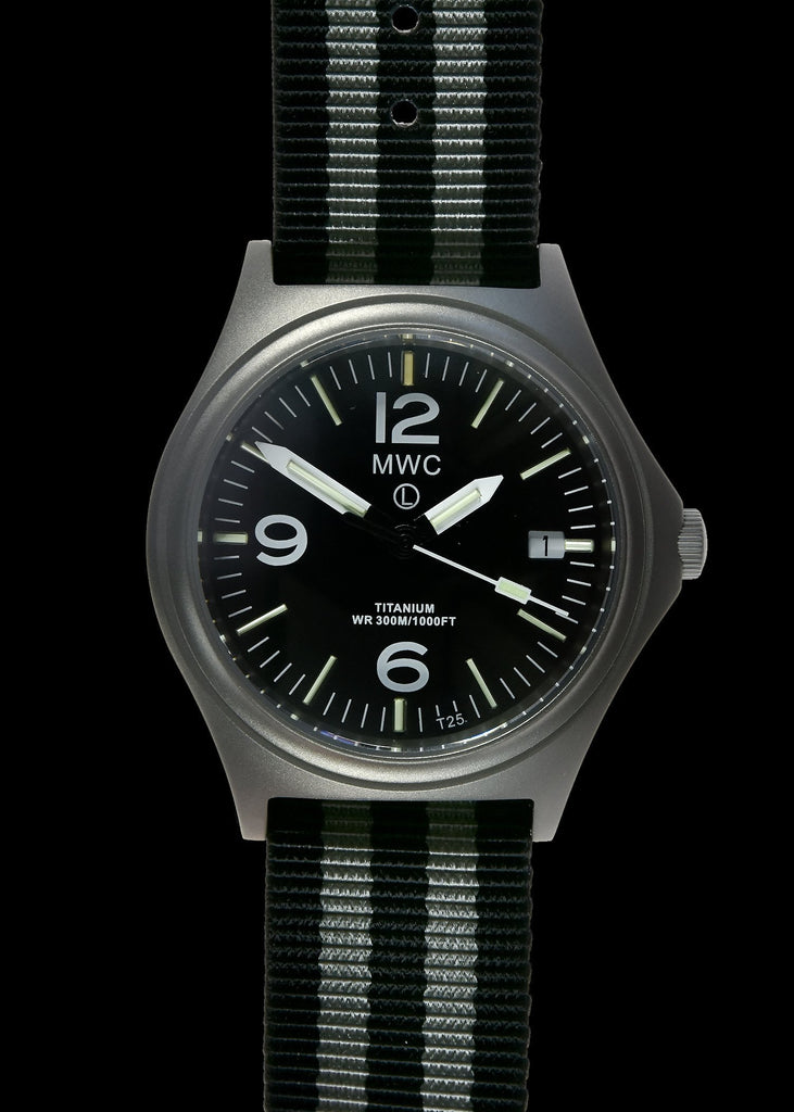 MWC Infantry Watch - 45th Anniversary Ltd Edition Titanium, Tritium GTLS, 300m, 10 Year Battery, Sapphire Crystal