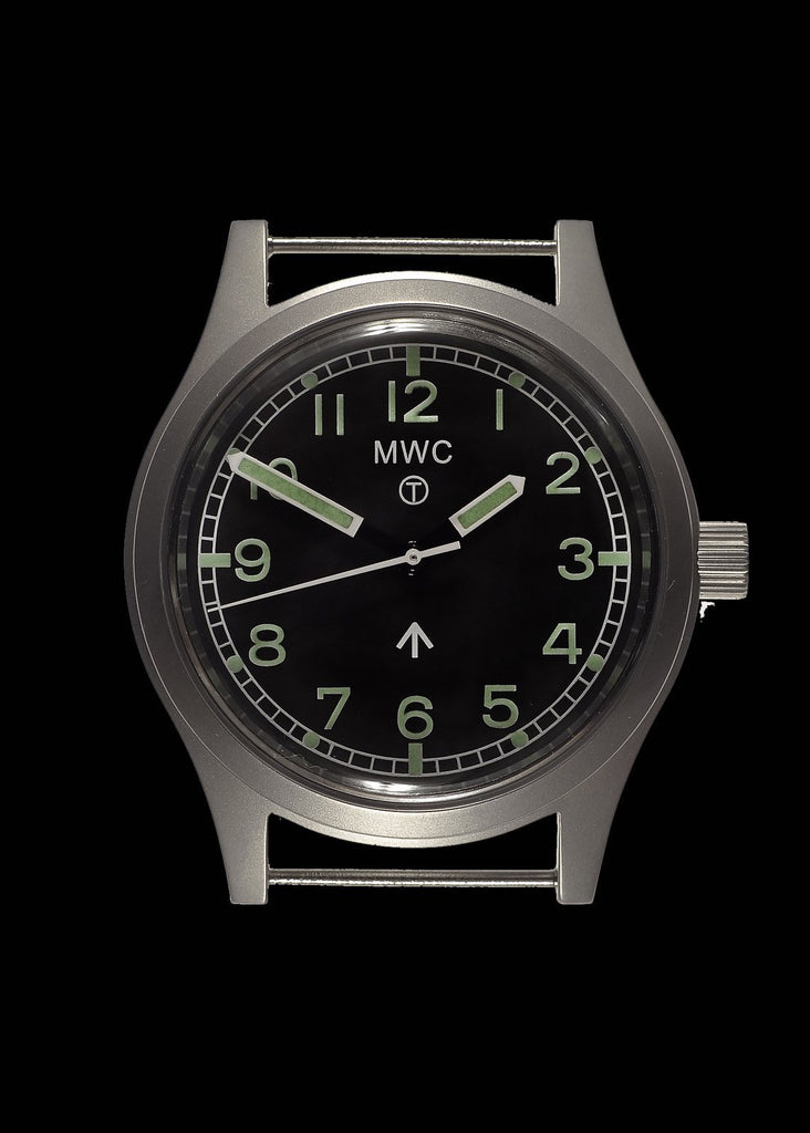 MWC Classic Watch - 1940s to 1960s Pattern General Service Watch with 24 Jewel Automatic Movement