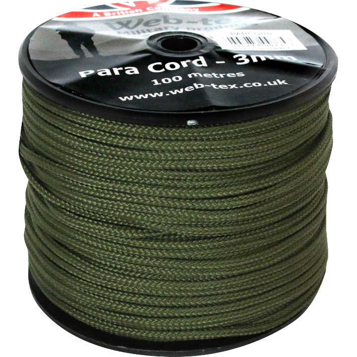 Paracord 100 m REEL