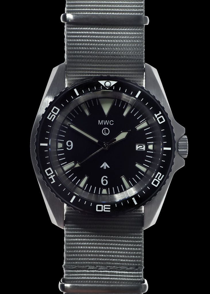 MWC Divers Watch - Stainless Steel (Automatic) 12 Hour Dial, Sapphire Crystal and Ceramic Bezel