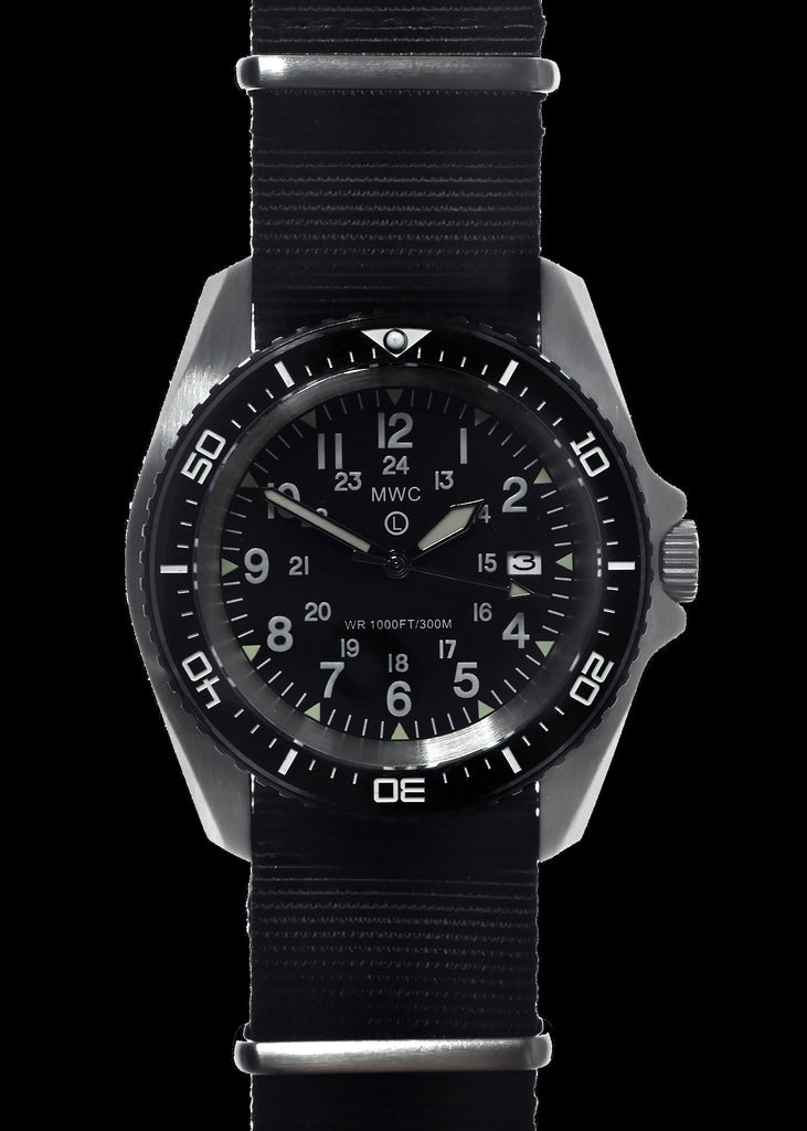MWC Divers Watch - Stainless Steel (Automatic) 24 Hour Dial, Sapphire Crystal and Ceramic Bezel