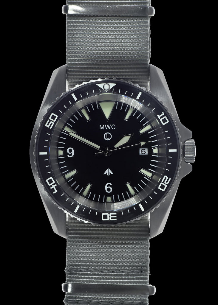 MWC Divers Watch - Military Divers Watch in Stainless Steel Case (Quartz) with Sapphire Crystal and Ceramic Bezel