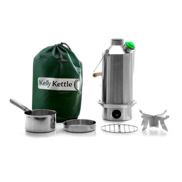 Kelly Kettle Base Camp Stainless Steel Basic Kit