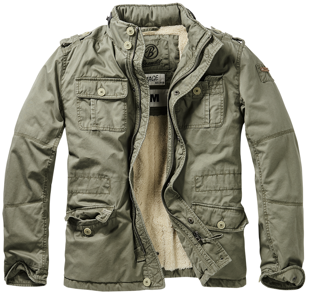 Brandit - Britannia Winter Jacket - Green