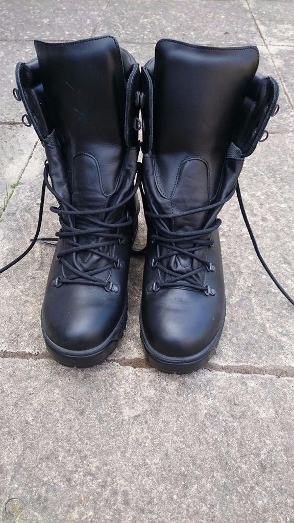British Army Cold/Wet  Weather Boots Gore-tex Boots Grade 1