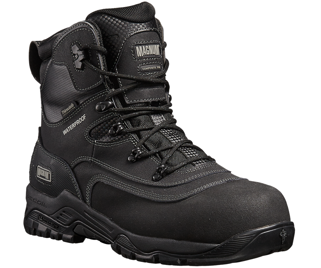 Magnum Broadside 8.0  Composite Toe & Plate Waterproof Insulated Men's & Women's Work Safety Boots