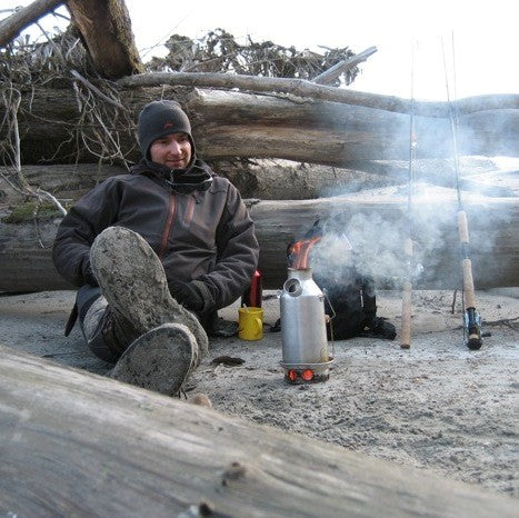 Kelly Kettle Trekker Stainless Steel