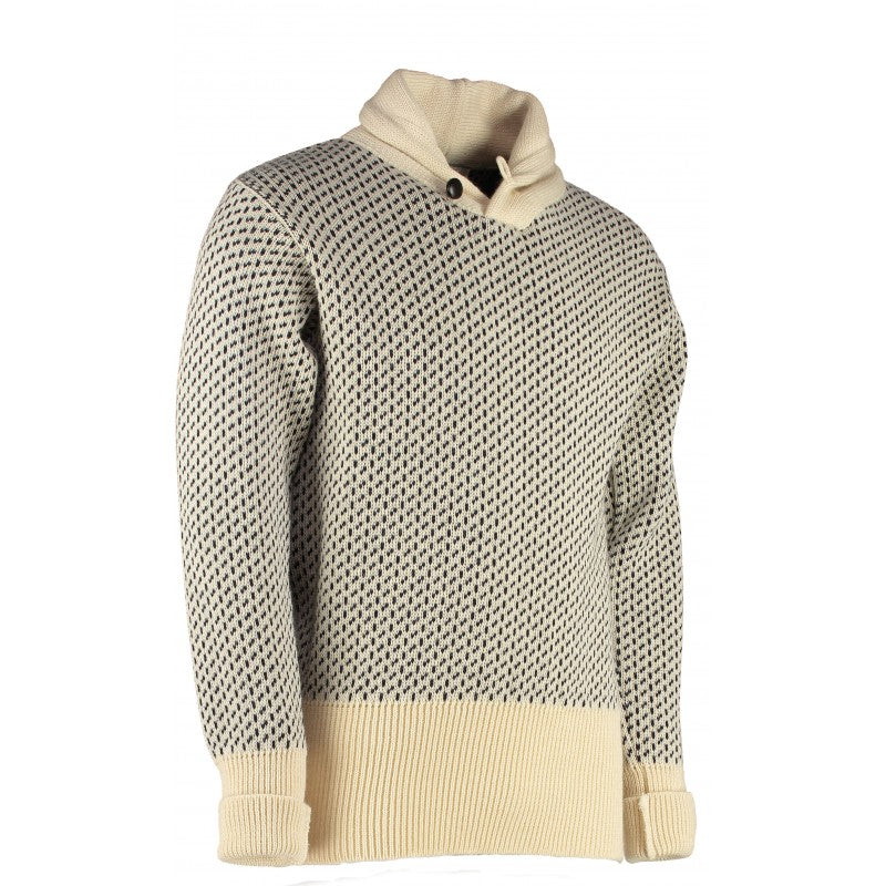 Scapa Classic Seaman's High Shawl Collar Sweater