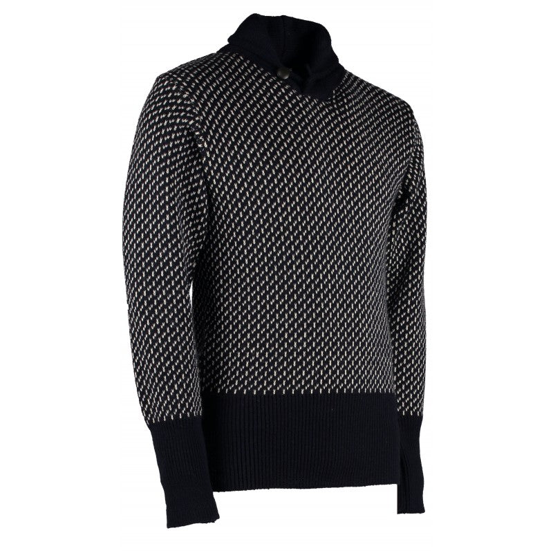 Orkney Classic Seaman's High Shawl Collar Sweater