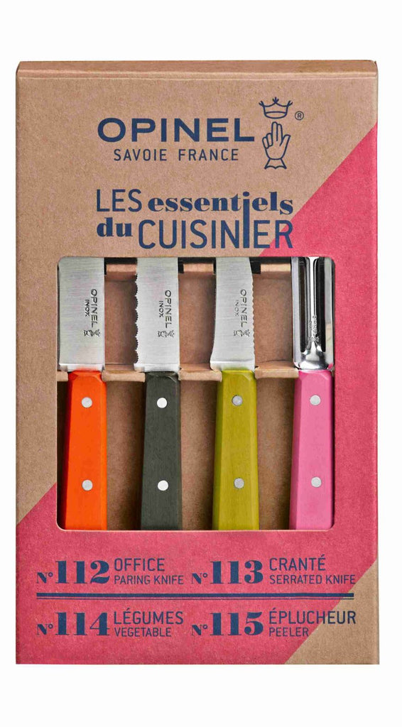 Opinel - 50's Retro Kitchen Knife Set 001452