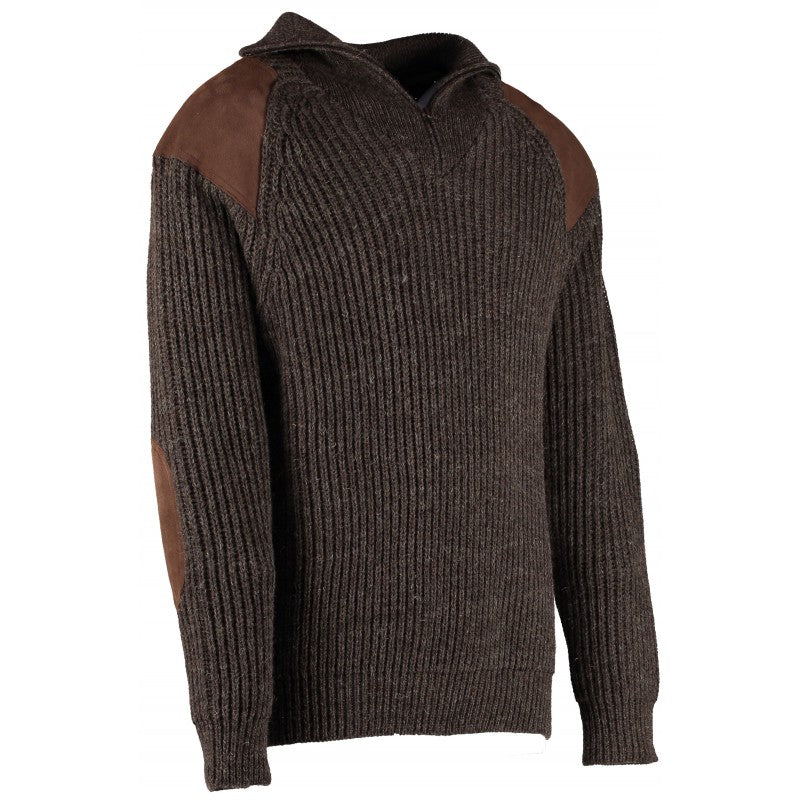 Exmoor Quarter Zip Sweater