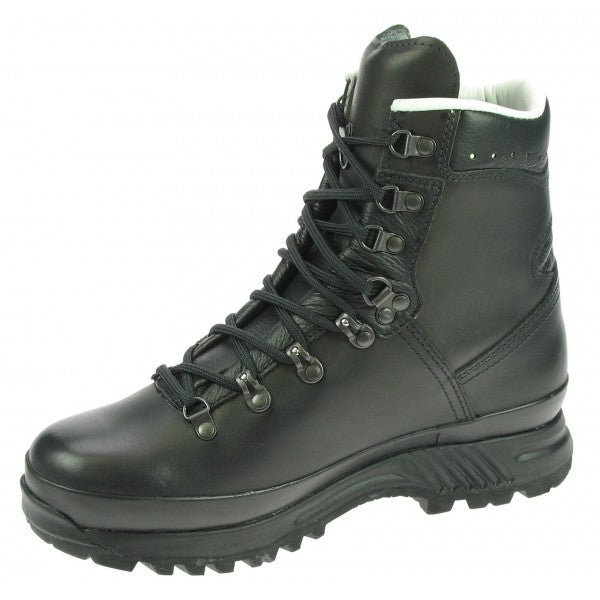 Hanwag Boots Special Forces GTX Black Leather