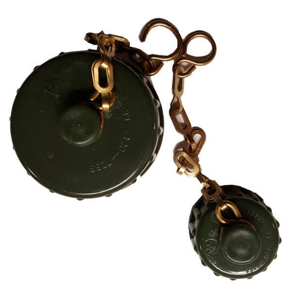 Cap and Chain Set for NATO Water Jerry Cans