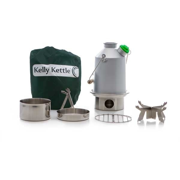 Kelly Kettle scout  Stainless Steel Basic Kit