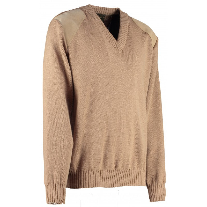 Gatcombe Vee Neck Shooting Sweater