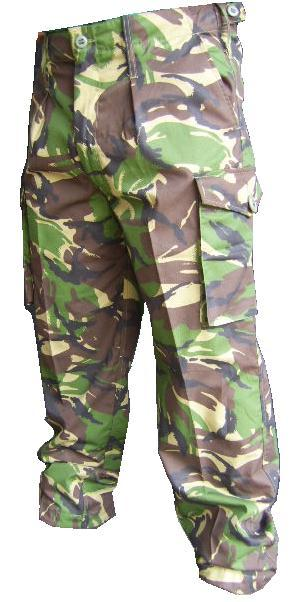 British Army Soldier 95 Camouflage DPM Trousers Used Super Grade 1
