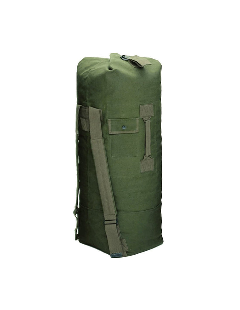 Sturm MilTec US Duffle Bag Double Strap Cotton Olive